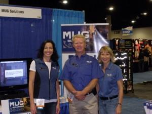 Caroline Sanche, Terry Ward, and Tina Thompson